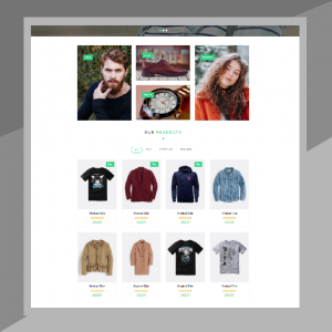 website fashion shop